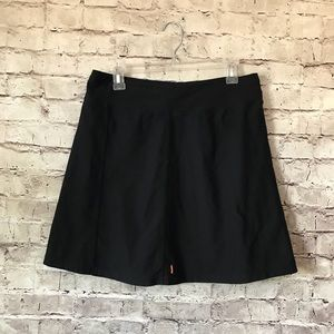 Lucy Athletic 6/8 Black Skirt Tennis Golf